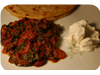Rajma (Kidney Bean Curry) with Spinach